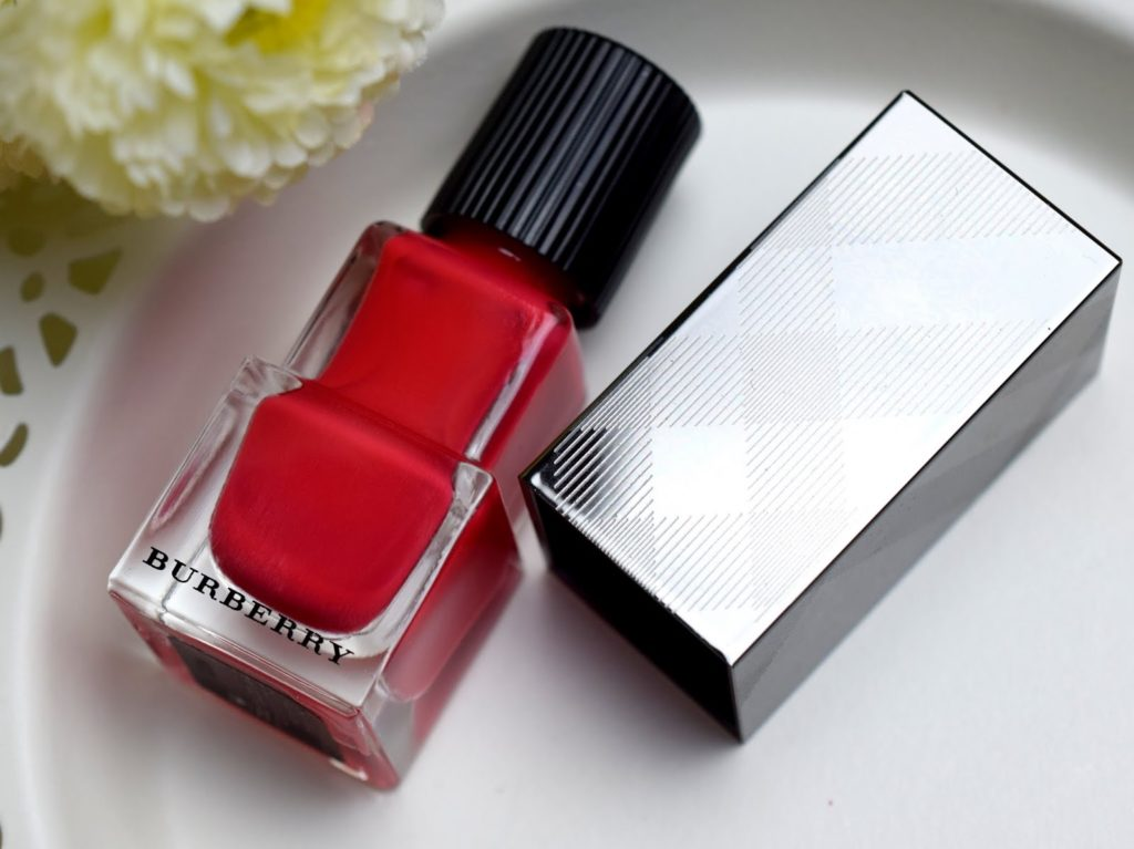 Burberry Bright Coral Red