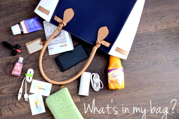 Whats-in-my-bag-blogger-event