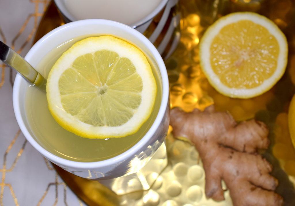 Tipps Hausmittel Erkältung Ingwertee Zitrone