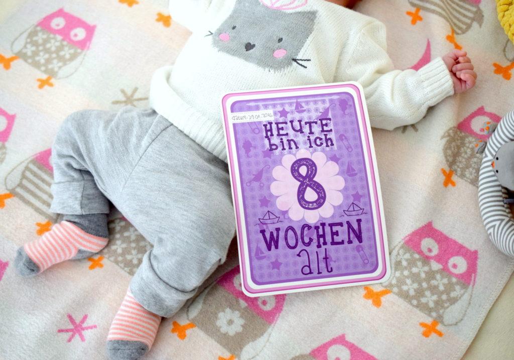 Mama Monday 8 Wochen mit Baby 8 Erkenntnisse