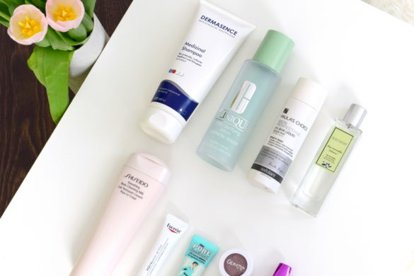 Beauty Favoriten im Mai mit Dermasence, Clinique, Paula's Choice und Shiseido