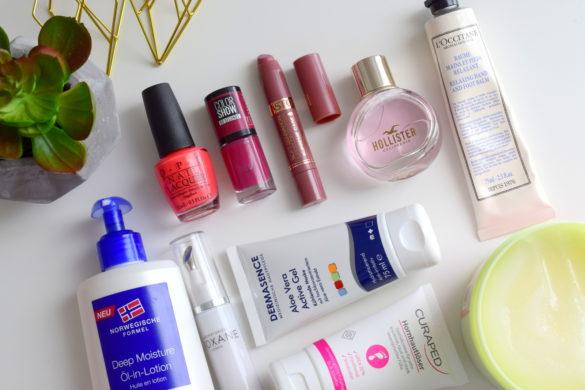 Beauty Blogger Monatsfavoriten und Beauty Favoriten aus dem Juli 2016 mit Dermasence, Neutrogena und Astor.