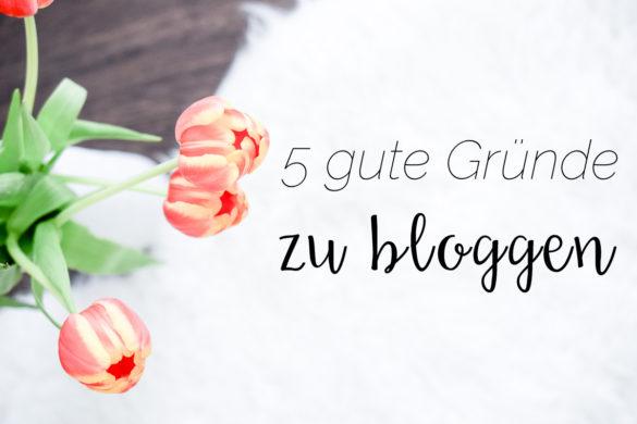 Gute Gründe zu Bloggen Vorteile Lohnt sich ein Blog Montagsfrage I need sunshine
