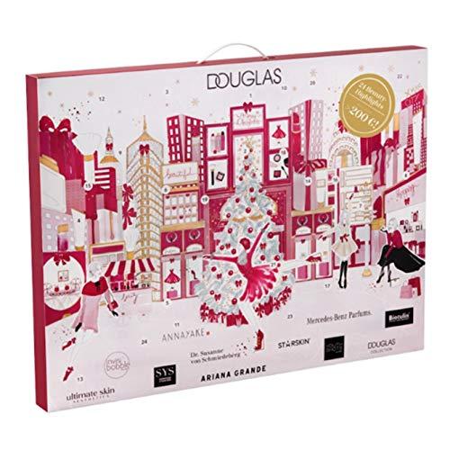 Douglas Beauty Adventskalender New York 2019 - idealer Advent Kalender für die Frau, Beautykalender im Wert von 200 €, Kosmetikkalender mit 24 Beauty Produkten für Damen