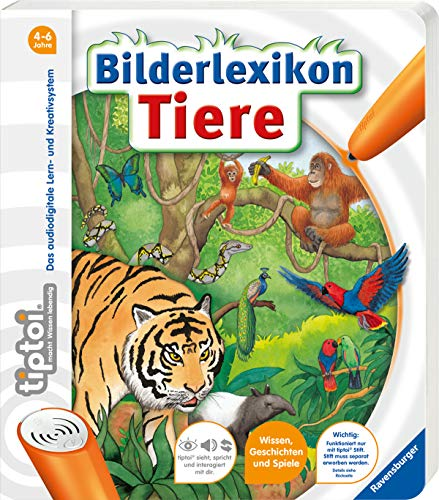 tiptoi® Bilderlexikon Tiere: tiptoi Bilderbuch