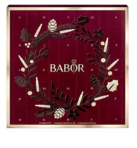 BABOR Adventskalender 2019, 24-Tage-Ampullen-Intensiv-Kur, pflegend, regenerierend, glättend, auch als Geschenkidee für Frauen, 24x2ml