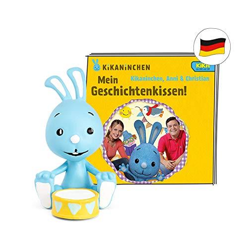 tonies Hörfiguren für Toniebox: KIKANINCHEN Figur - Mein Geschichtenkissen - ca 65 Min. Spieldauer - ab 4 Jahre - DEUTSCH