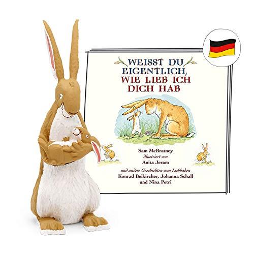 tonies Hörfiguren für die Toniebox - Weißt du eigentlich wie lieb Figur - ab 3 Jahren ca. 35 Minuten - Deutsch