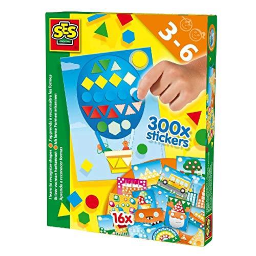 SES 14839 Creative 0643307 lerne Farben und Formen Lernspielzeug, Mehrfarbig
