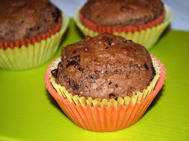 rezept schnelle vegane schoko haselnuss muffins i need sunshine. Black Bedroom Furniture Sets. Home Design Ideas