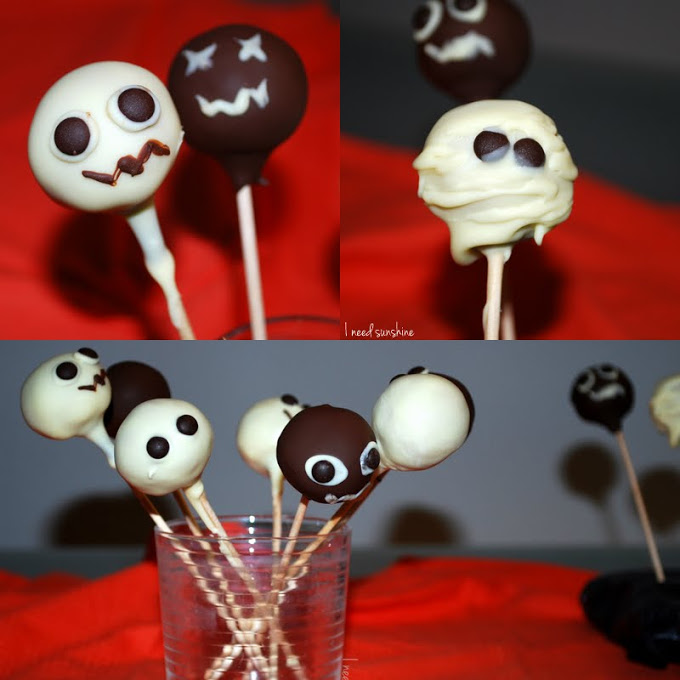 rezept f r halloween schnelle cake pops ohne backen. Black Bedroom Furniture Sets. Home Design Ideas