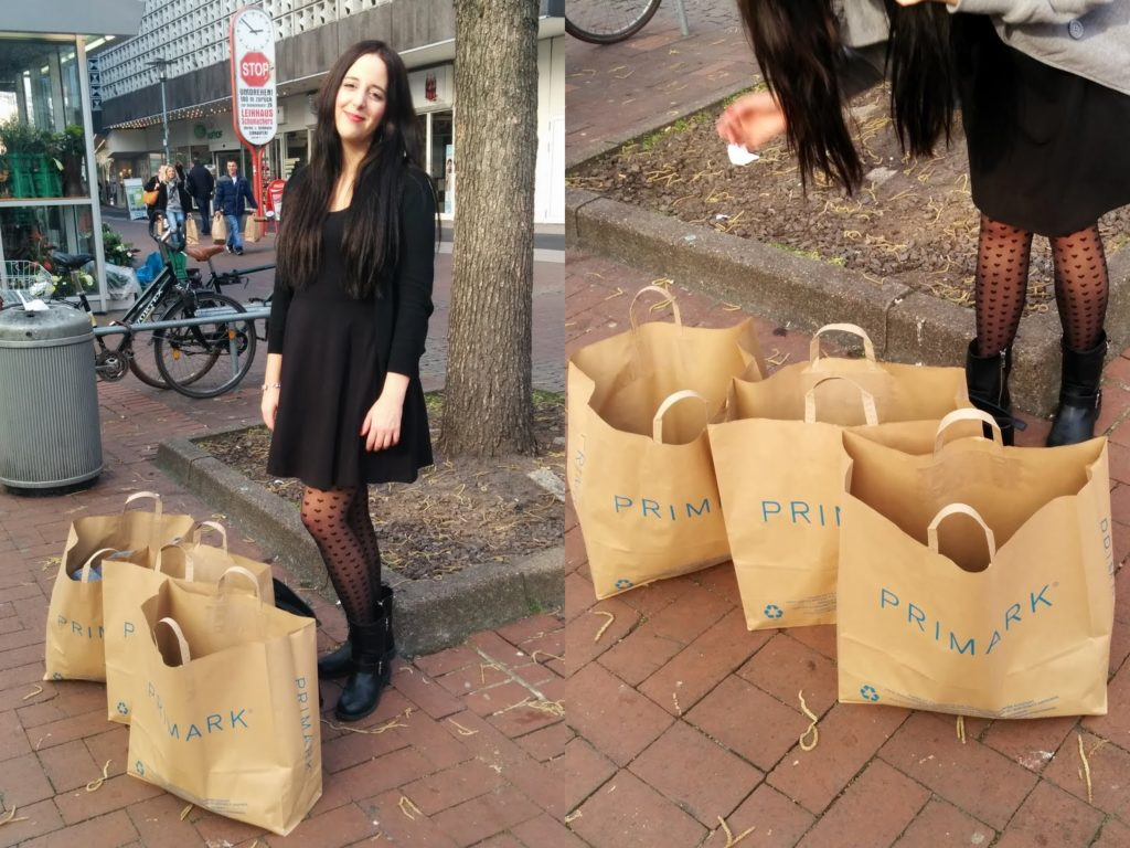 Primark Shopping Ausbeute in Hannover