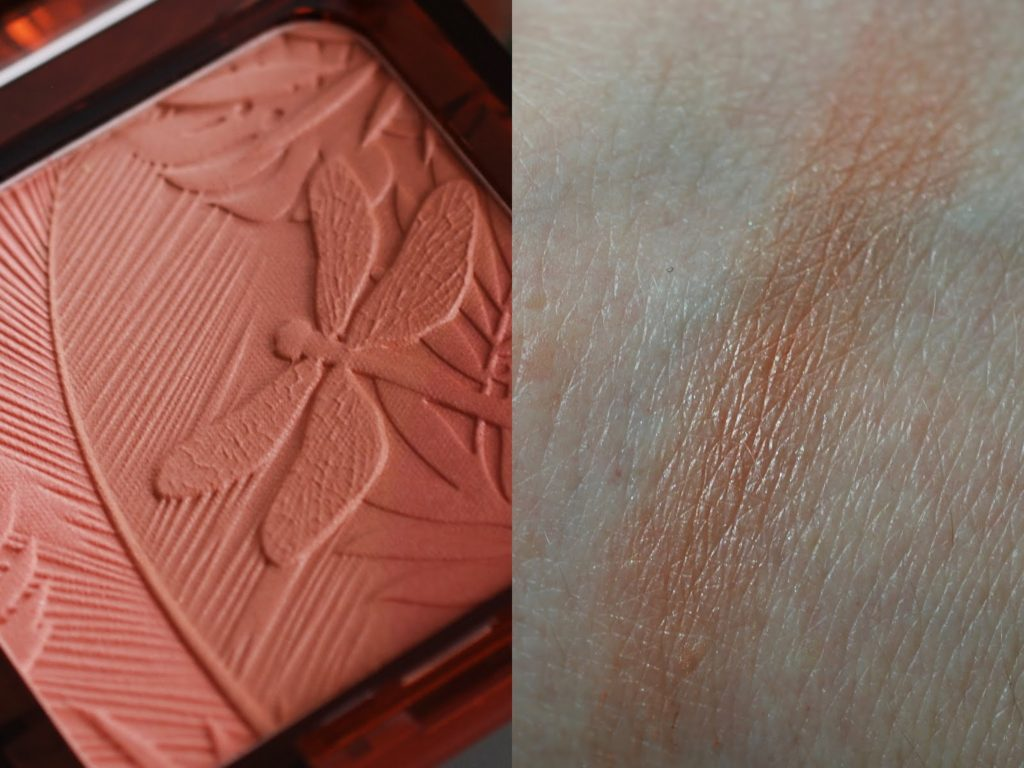 Review und Swatch Artdeco Jungle Fever Bronzing Glow Blusher Queen of the Jungle