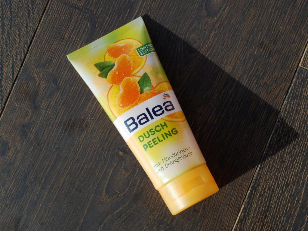 Balea Duschpeeling Mandarinen- und Orangenduft dm Lieblinge Box Mai 2014