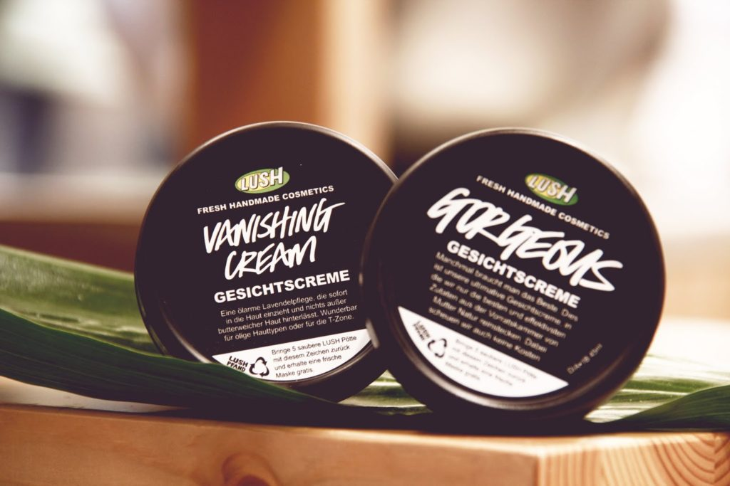 Lush Vanishing Cream und Gorgeous