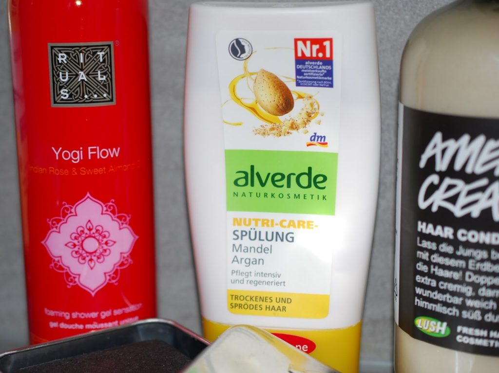 Alverde Nutri-Care-Spülung Mandel Argan