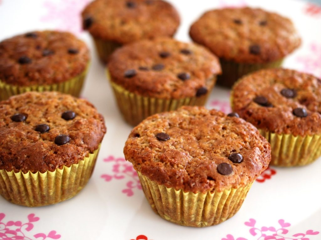 tasty tuesday 17 muffin rezept ohne ei schoko joghurt erdbeer muffins i need sunshine. Black Bedroom Furniture Sets. Home Design Ideas
