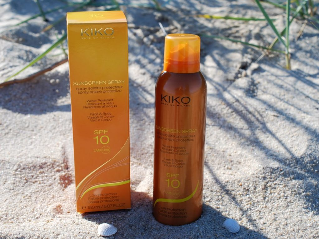 KIKO Sunscreen Spray Water Resistant SPF10