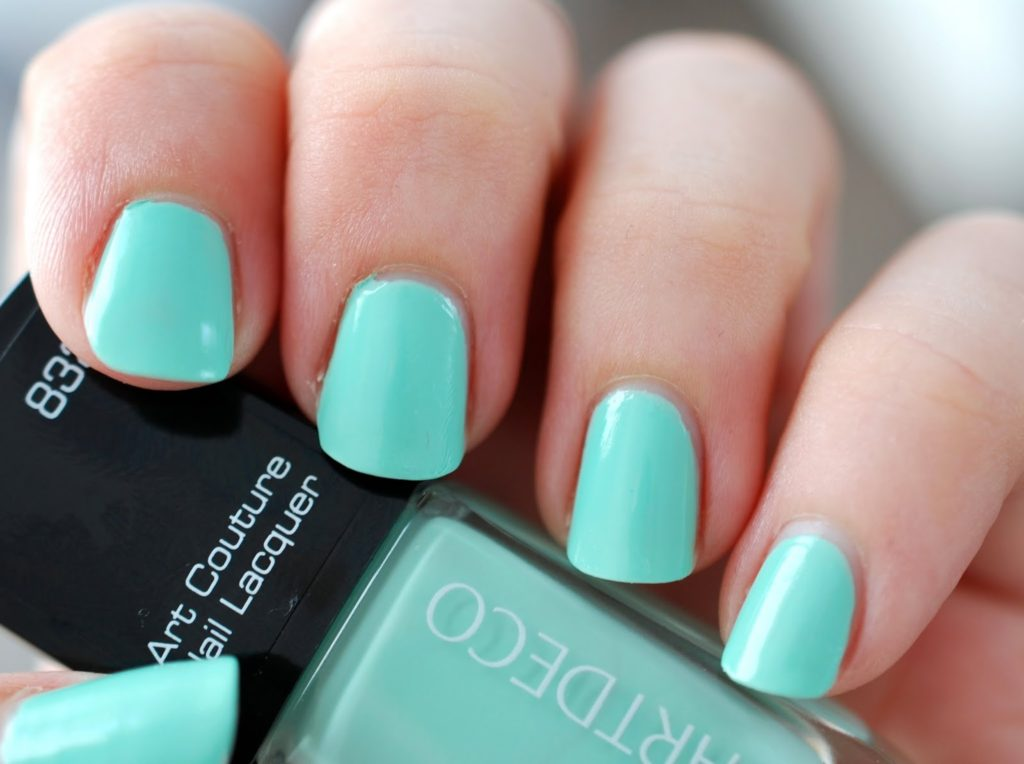 Nail of the Day Artdeco Couture Spearmint