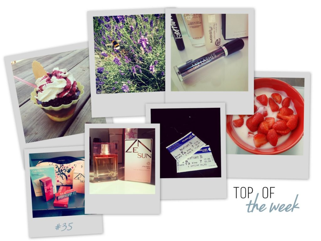Top of the Week by I need sunshine Beauty and Lifestyle Blog