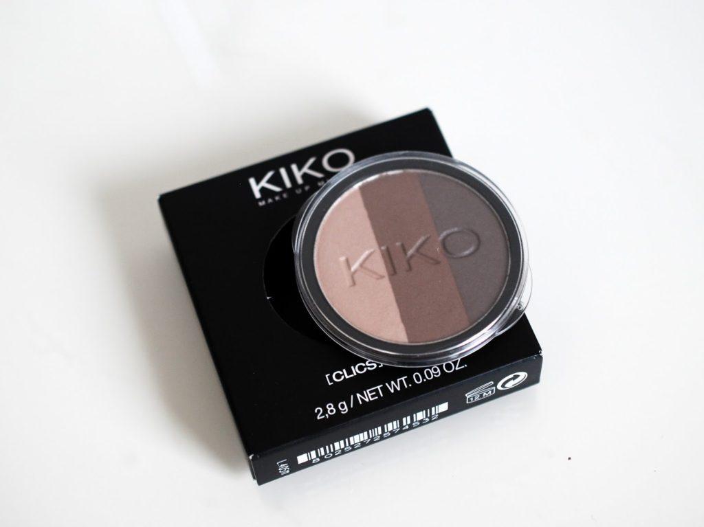 KIKO Infinity Trio Eyeshadow 02 Gradient Brown