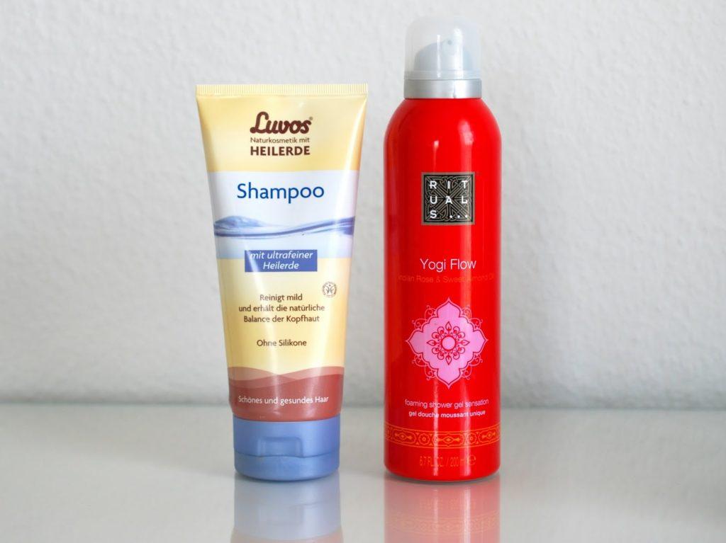 Luvos Heilerde Shampoo Rituals Yogi Flow Duschschaum