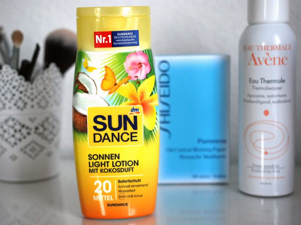 Sundance Sonnencreme Kokos Light Version mit Kokosduft Beautyhelfer im Sommer