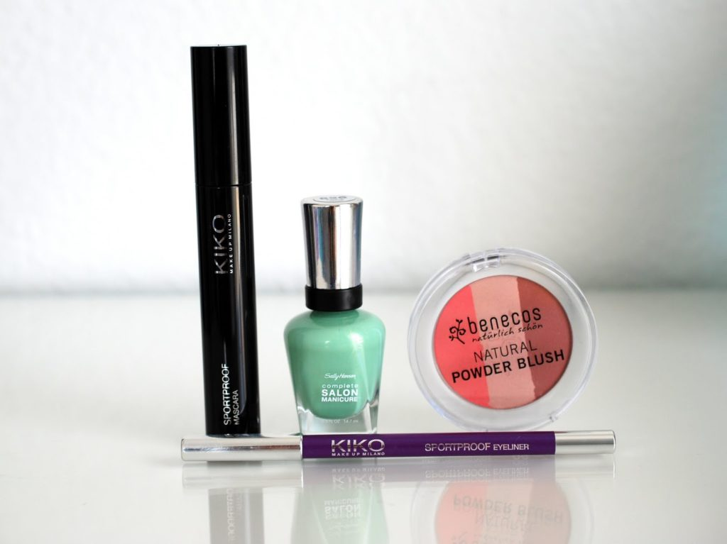 Kosmetik Favoriten im Juni Kiko Sally Hansen Benecos