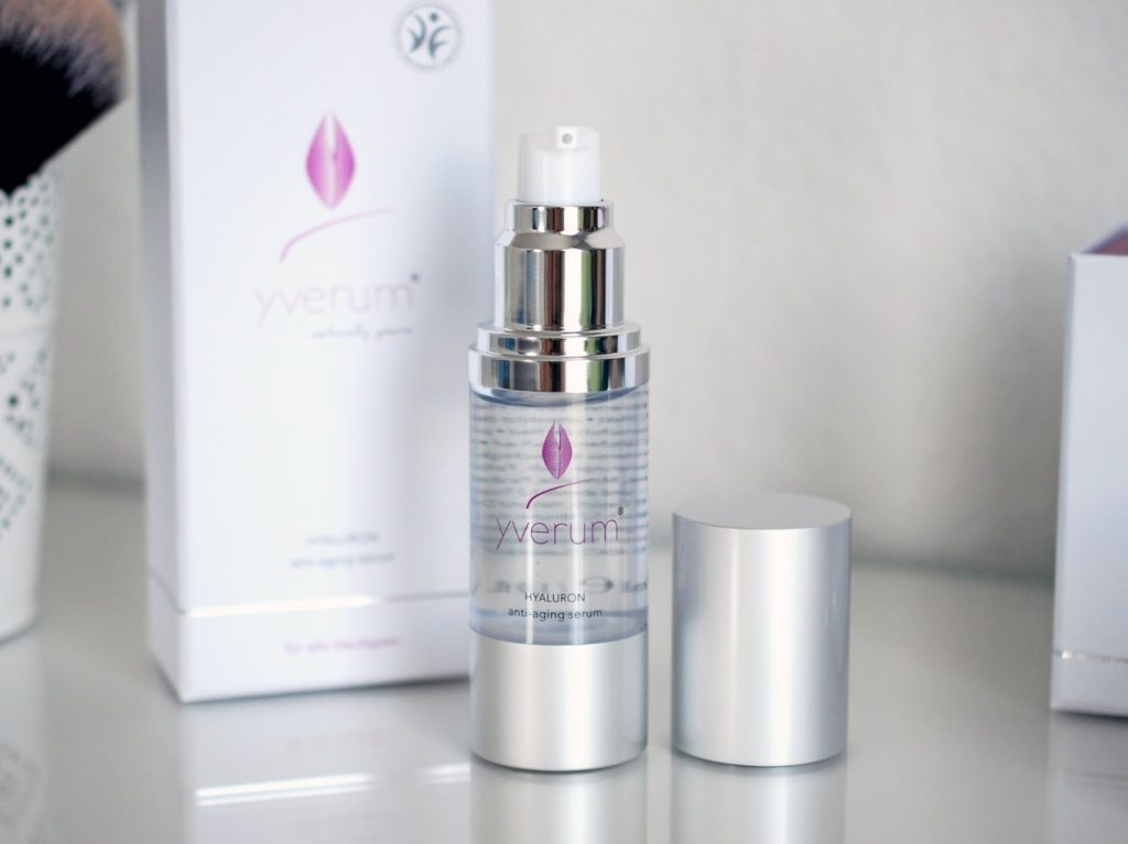 Review Yverum Hyaluron Anti-Aging Serum Erfahrungsbericht