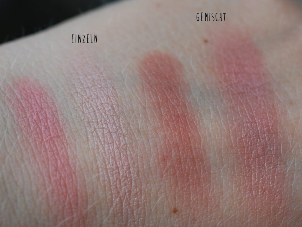 Benecos Natural Trio Blush Fall In Love Swatch