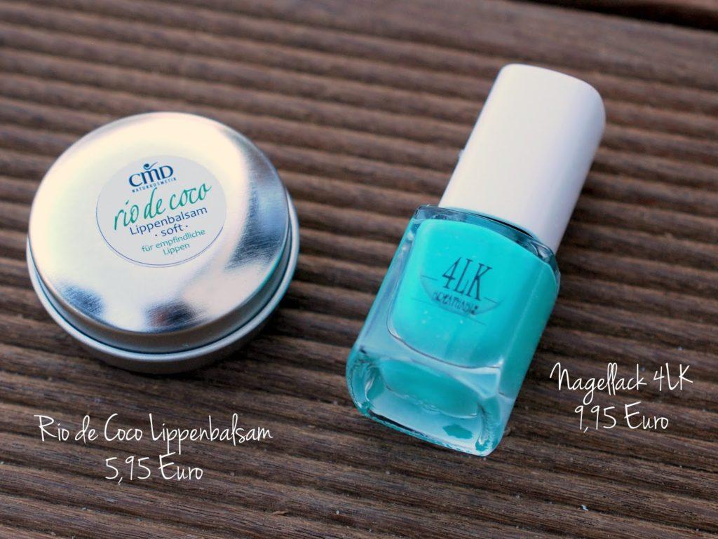 Rio de Coco Lippenbalsam Soft und 4LK Breathable Nagellack