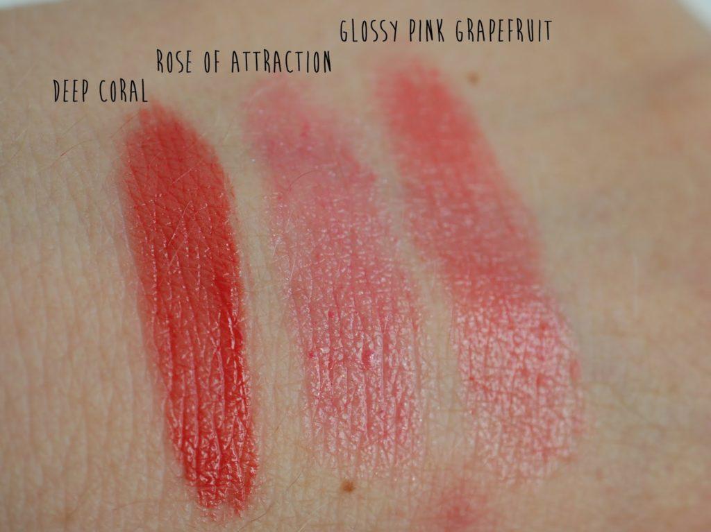 Blogparade Top 3 Sommer Lippenstifte 2014 Shiseido Maybelline Artdeco