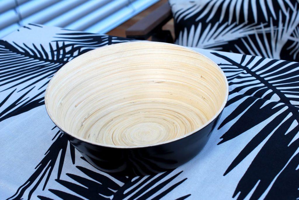 Ikea Vinäger Servierschale aus Bambus