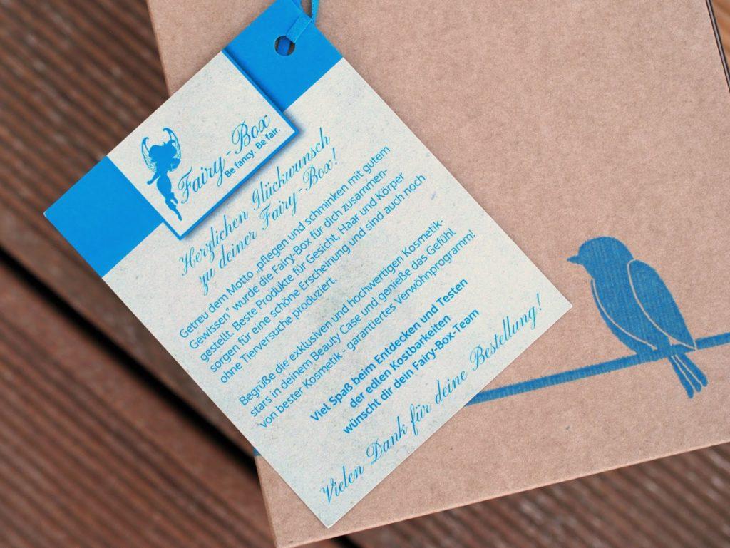 Fairy-Box Beautybox ohne Tierversuche