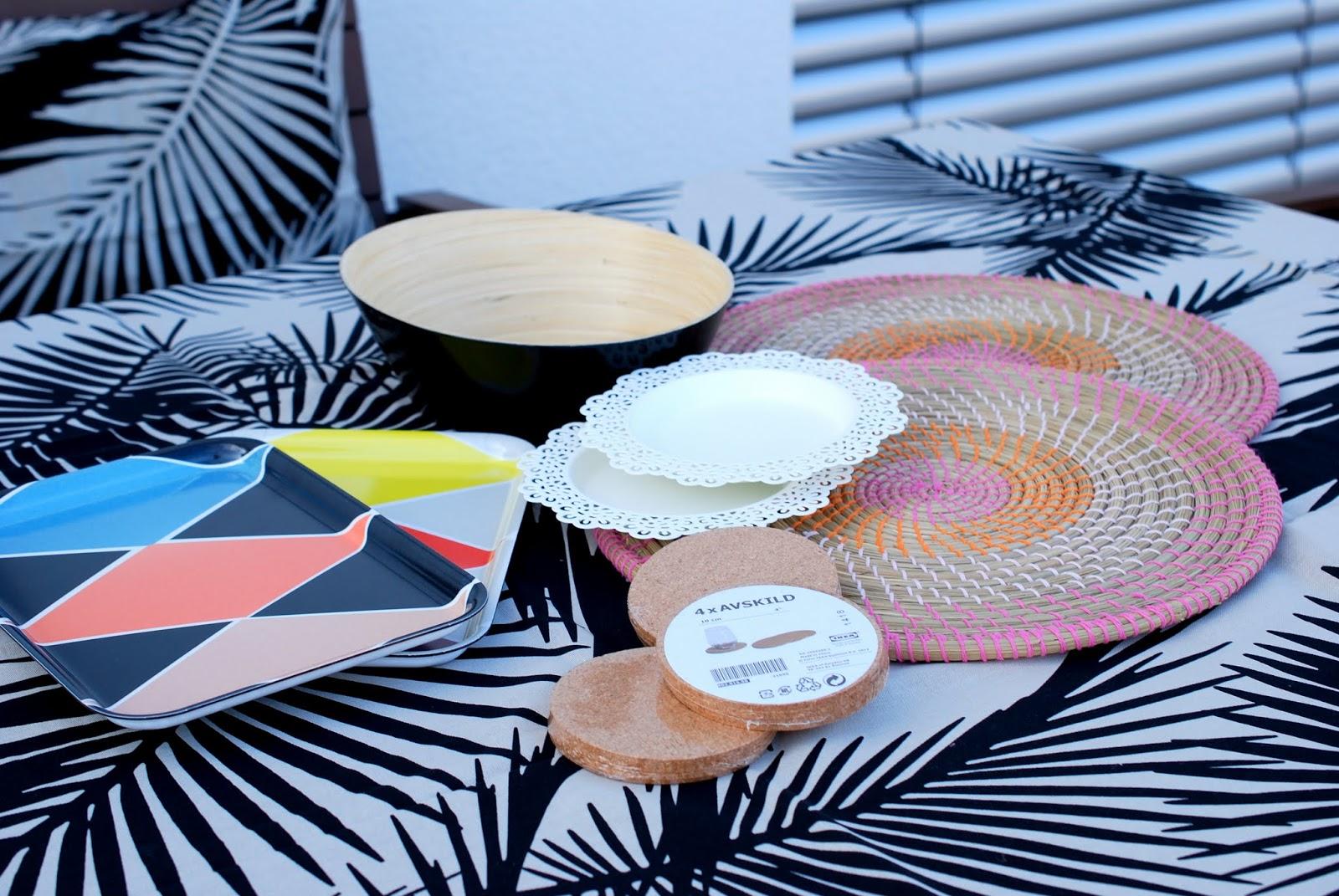 new in meine kleine ikea und h m home shoppingausbeute f r terrasse co i need sunshine. Black Bedroom Furniture Sets. Home Design Ideas