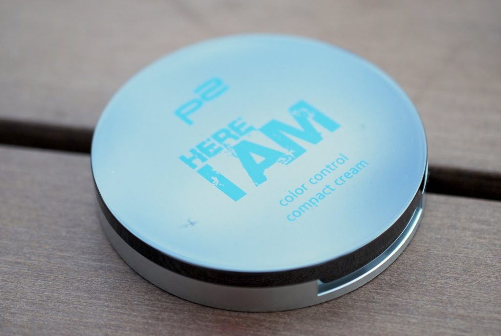"p2 here I am color control compact cream ""020 tanned"""
