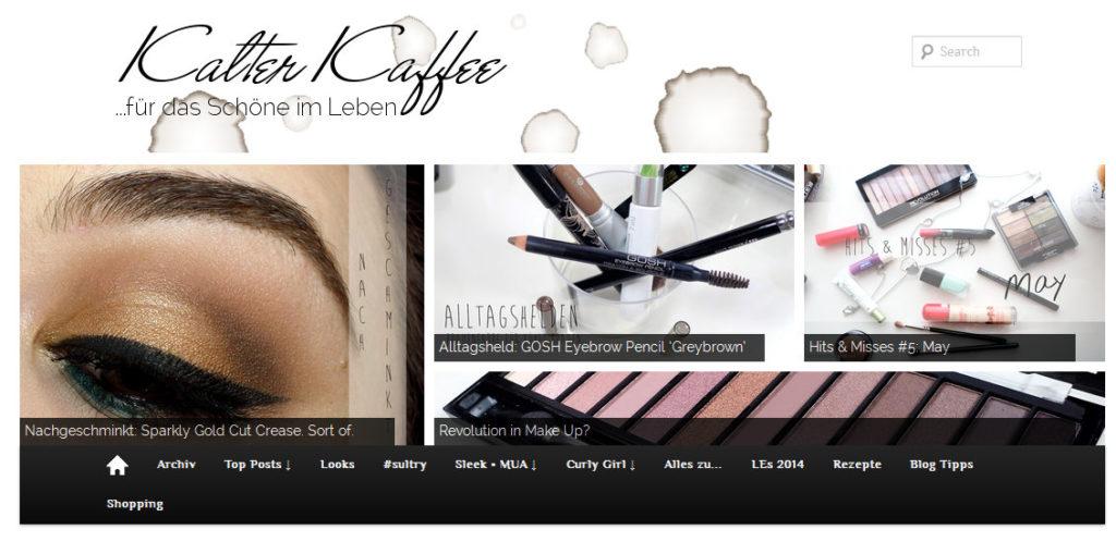 Interblog Kolumne - 3 Fragen zum Thema Druck beim Bloggen an Kalter Kaffee