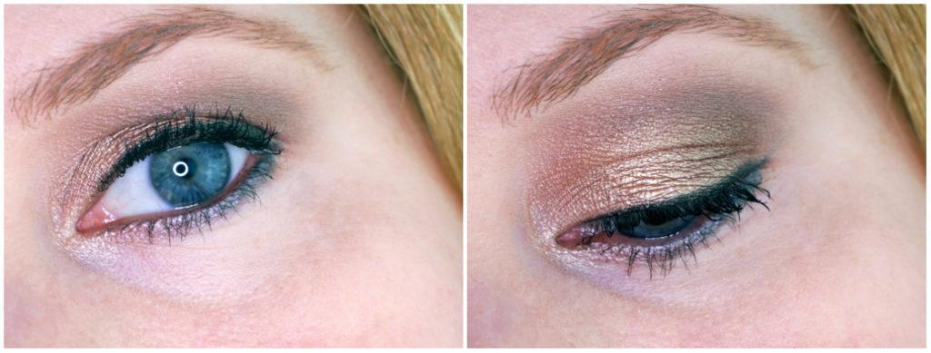 Herbstliches Augen-Make Up Sleekt Storm Palette