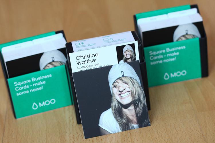 Visitenkarten von Moo