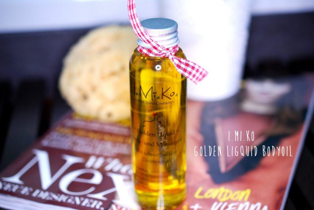 I.MI.KO Golden Liquid Bodyoil