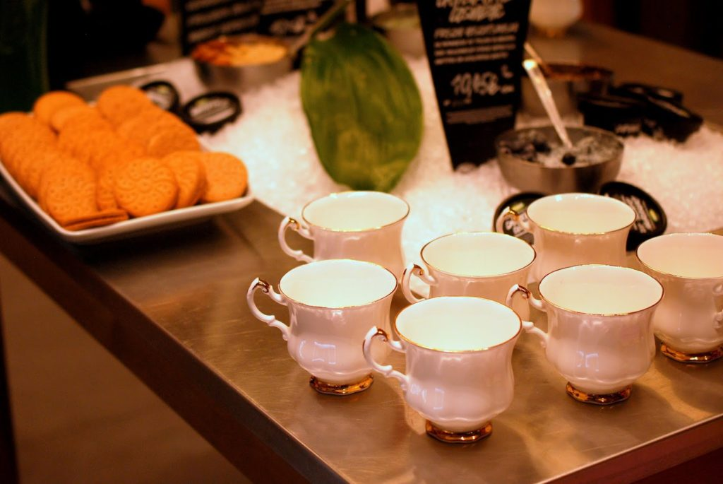 Lush Christmas Event 2014 in Karlsruhe