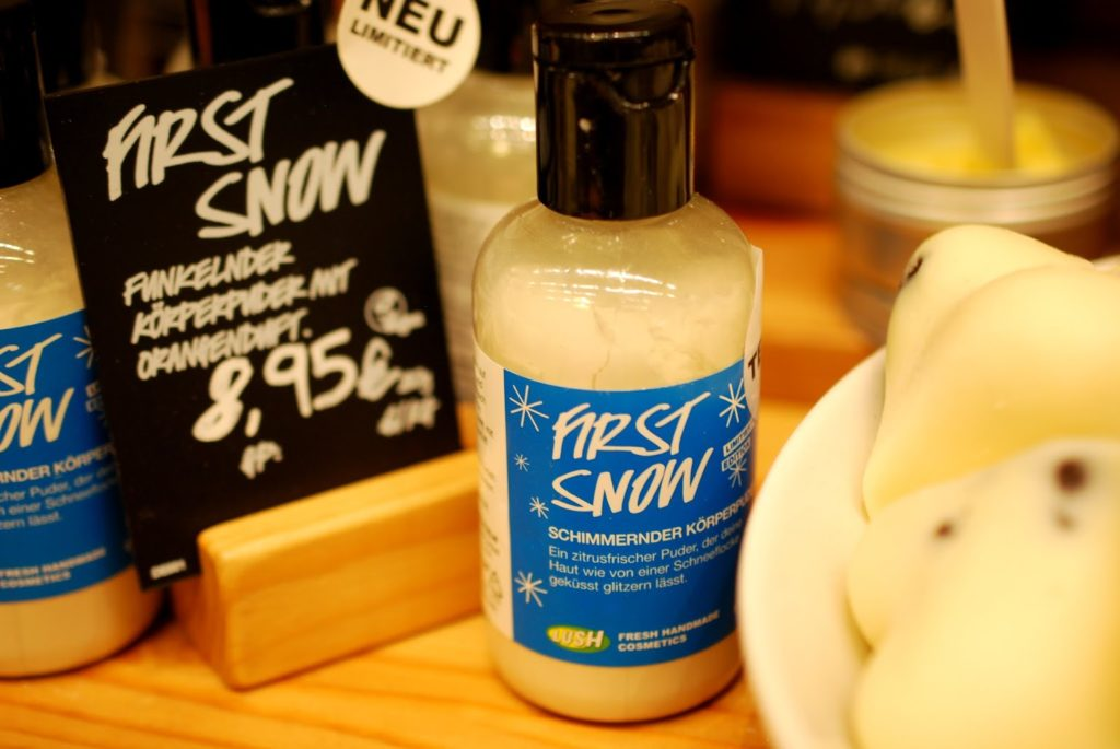 Lush First Snow Körperpuder