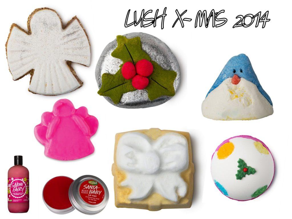 Lush Weihnachtsprodukte 2014