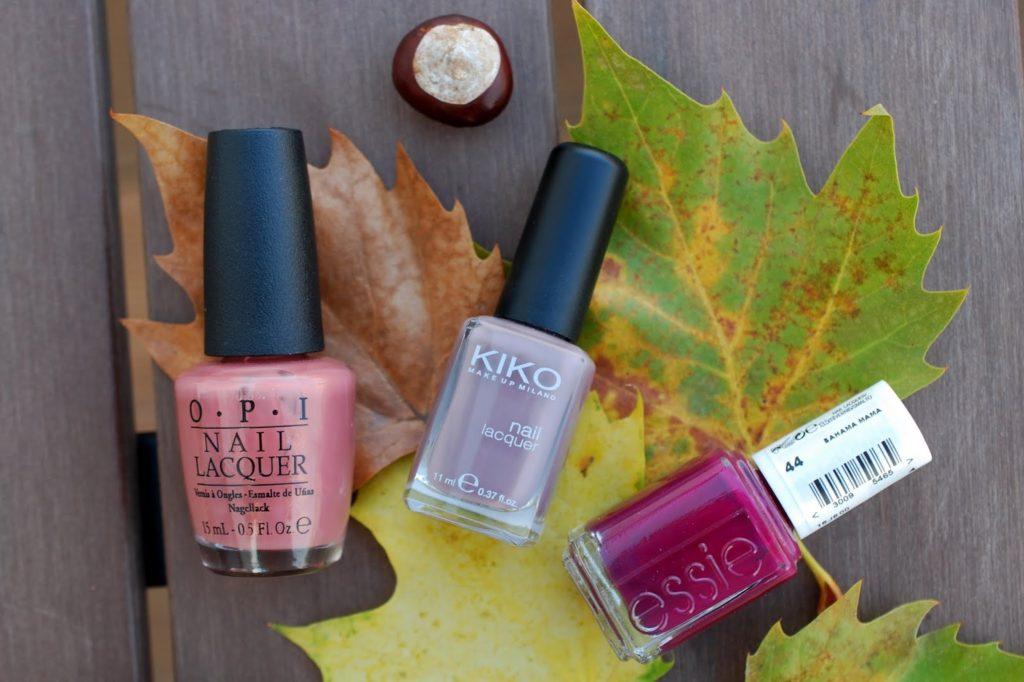 Meine Top 3 Herbst Nagellacke 2014