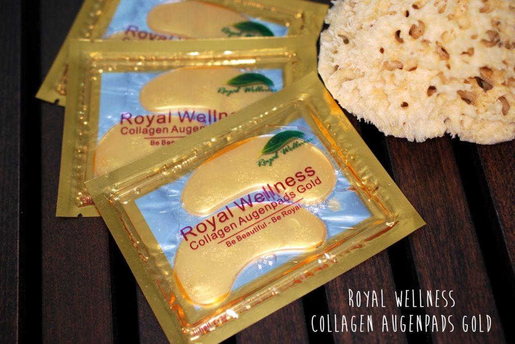 Royal Wellness Collagen Augenpads Gold
