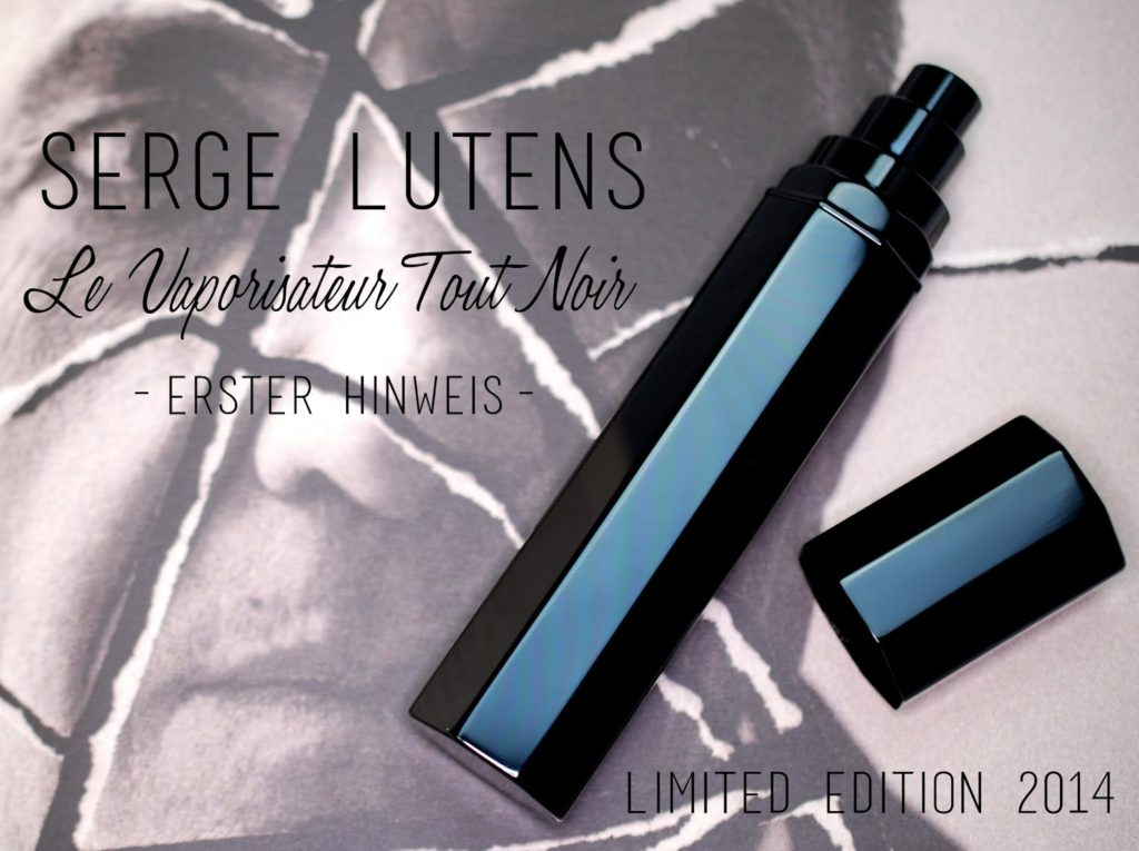 Le Vaporisateur Tout Noir Limited Edition 2014 Serge Lutens
