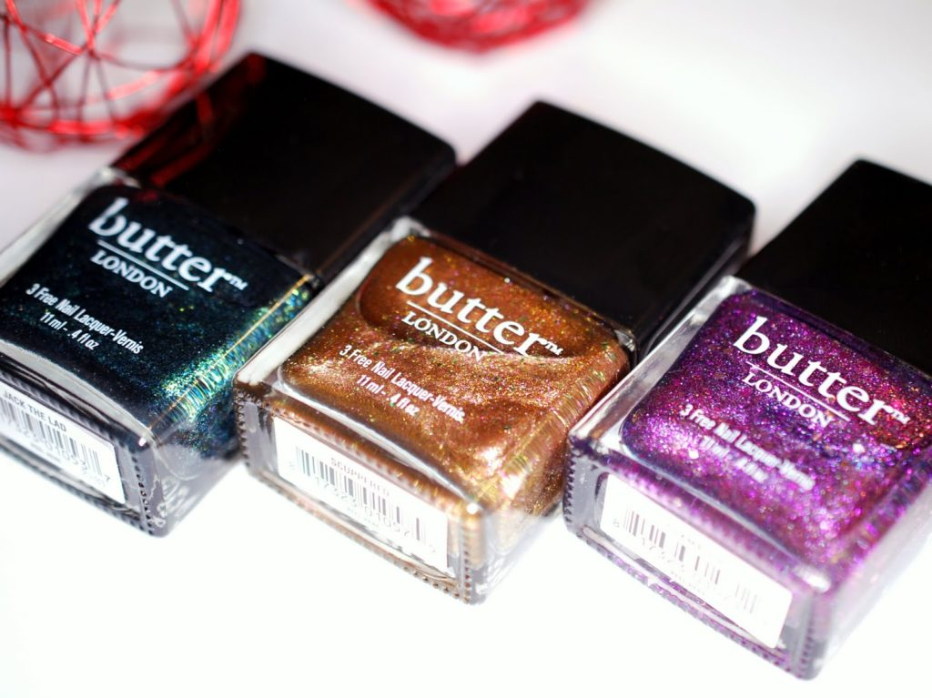 Butter London Sparkle Sparkle Holiday Laquer Collection