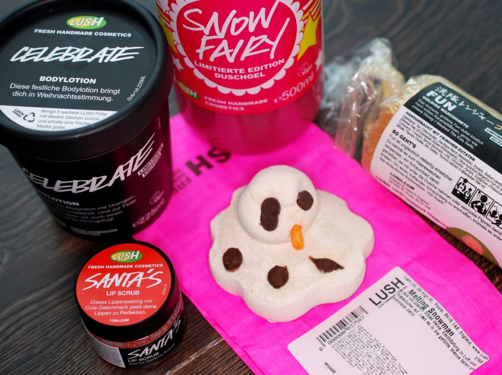 Lush 50% Christmas Sale Shopping