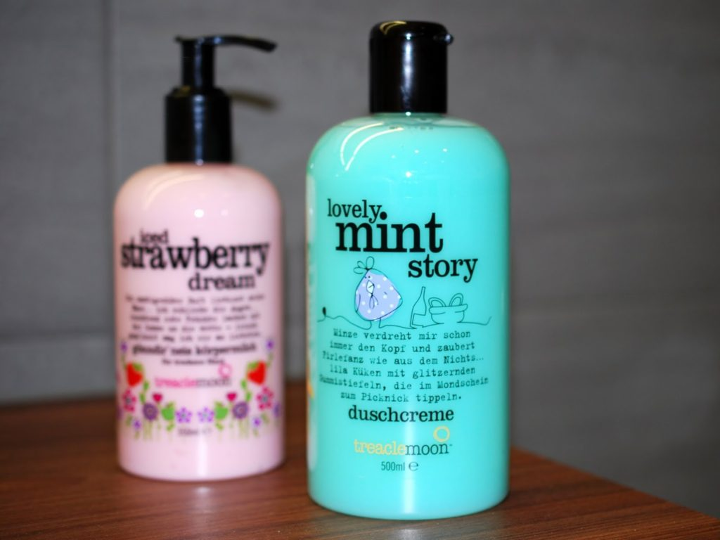 treaclemoon Lovely Mint Story Duschcreme und iced strawberry dream körpermilch im test