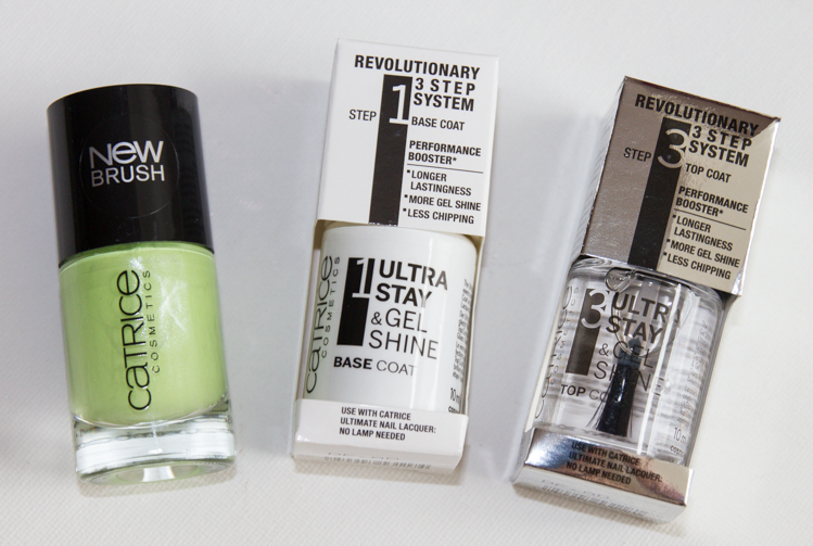 Review: Catrice Ultra Stay & Gel Shine 3 Step Nail System